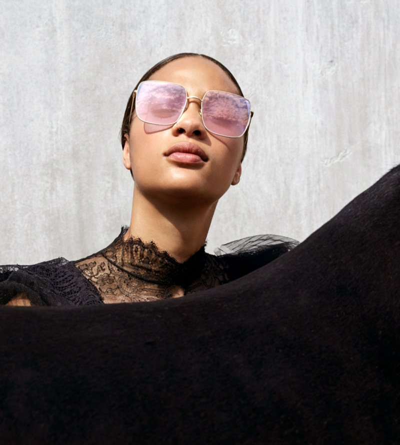 Selena Forrest Poses in California for #Dior Cruise '19 Campaign @Dior https://t.co/d9RZAUmK1l