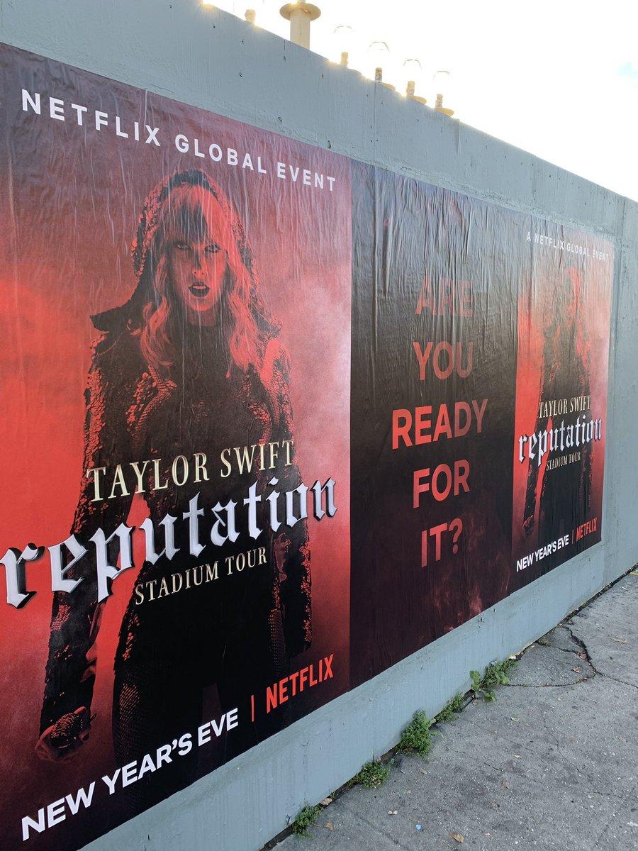 Reputation stadium tour movie