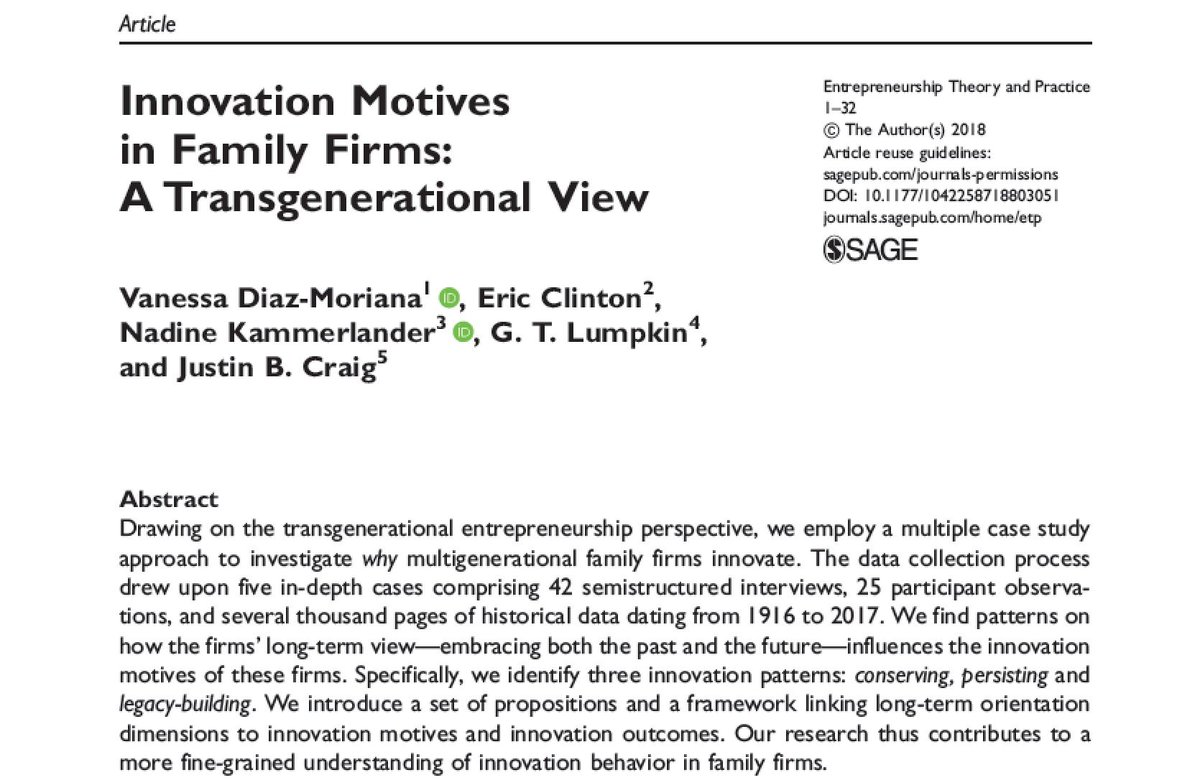 Entrepreneurship Theory And Practice On Twitter Innovation