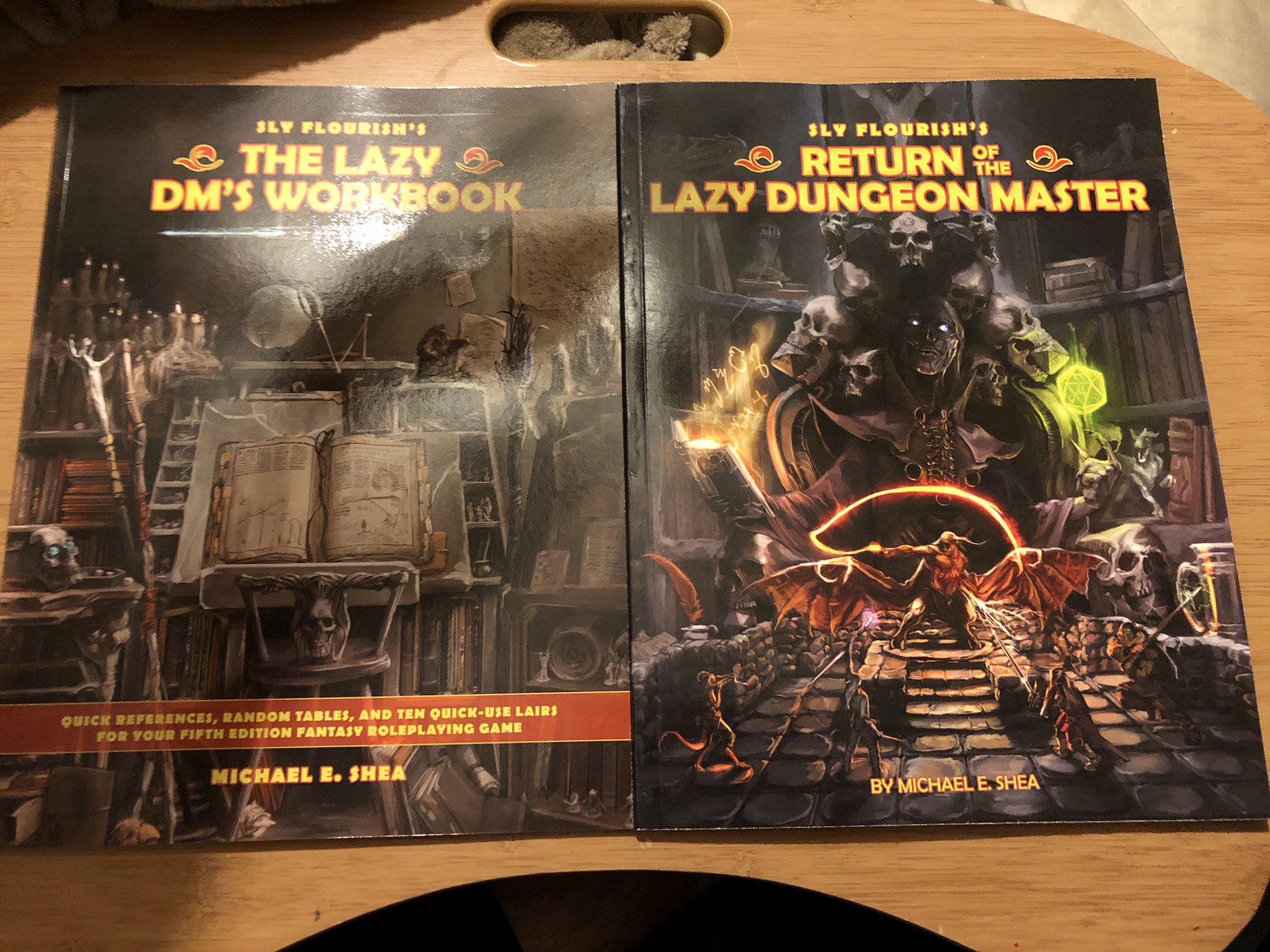 """Mephit Man on Twitter: """"Excited to take a look at @SlyFlourish's Return of  the Lazy Dungeon Master and The Lazy DM's Workbook! #dnd #dungeonmaster…  https://t.co/rQD1kOnTdX"""""""