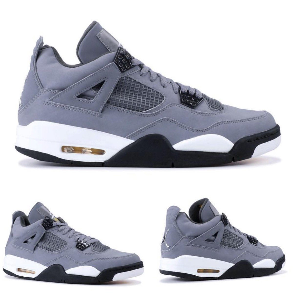 release date: 1259c 37a3b 2019 Air Jordan Retro 4 Cool Grey Chrome-Dark Charcoal 308497-007 August  3rd, 2019     190  MrUnloved1spic.twitter.com IINXCbHUK2