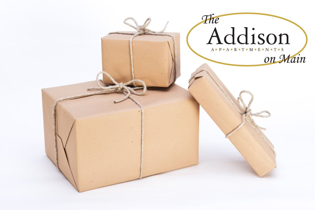 The Addison on Main Leasing office will be closed on December 24th and 25th. If you are expecting packages, please be sure to make arrangements for pick up by end of business day Saturday, December 22nd.