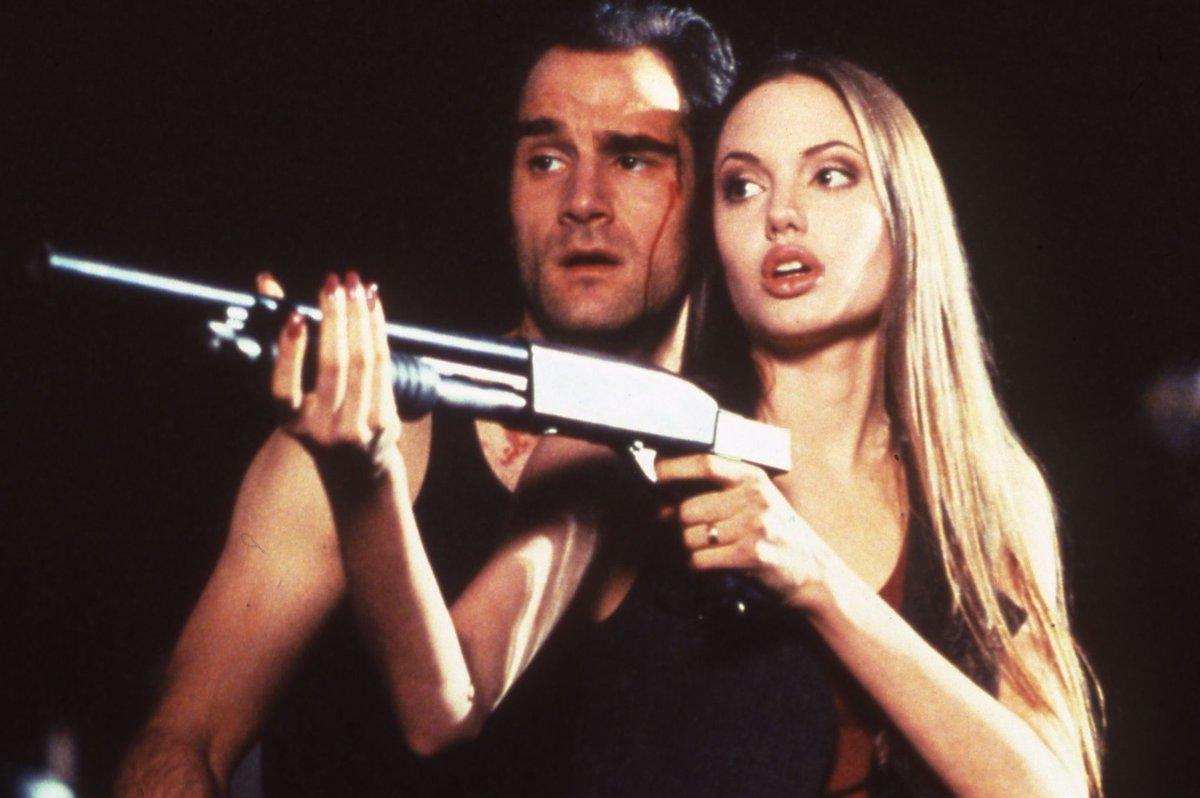 Angelina Jolie Cyborg 2 1993 media tweetsangelina-jolie (@ajoliesource) | twitter