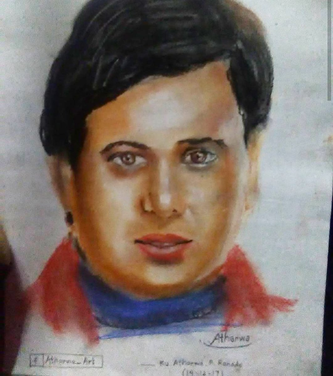 Happy birthday!!!  @govinda_herono1 An excellent dancer and actor with great comic timing...😍  Throwback to the portrait drawn last year....40 min rapid sketch with pastels #sketch #arts #artsupporting #artpromotion  #sketch #drawing #insta #Govinda #HappyBirthdayGovinda