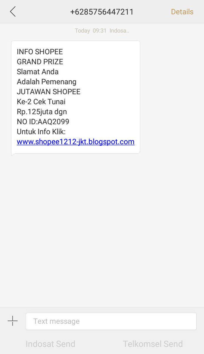 Shopee Indonesia Twitterren Hai Kak Shopee Tidak Mengumumkan