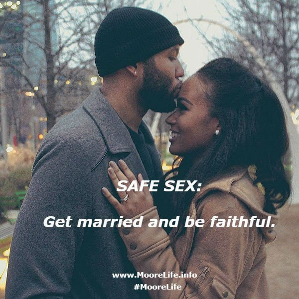 "#Marriage is honorable. (Stop ""playing house;"" get married.)  #EmbraceCommitment #RemainLoyal #MooreLife Visit our new webpage: http://www.MooreLife.info"