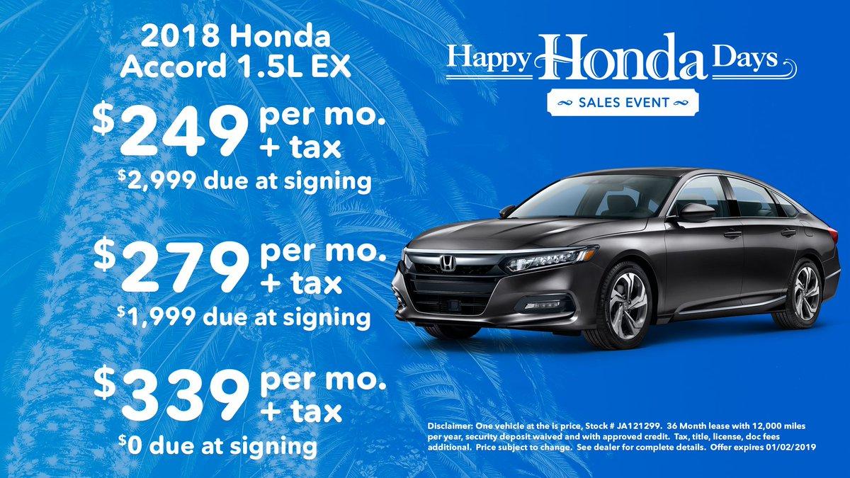 Santa Monica Honda >> Honda Santa Monica On Twitter Happy Honda Days From Honda