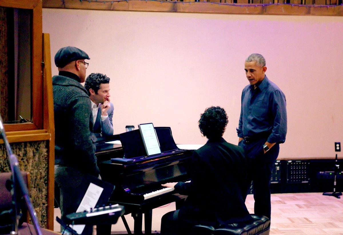 Barack Obama Stars In Lin-Manuel Miranda's 'Hamilton' Remix