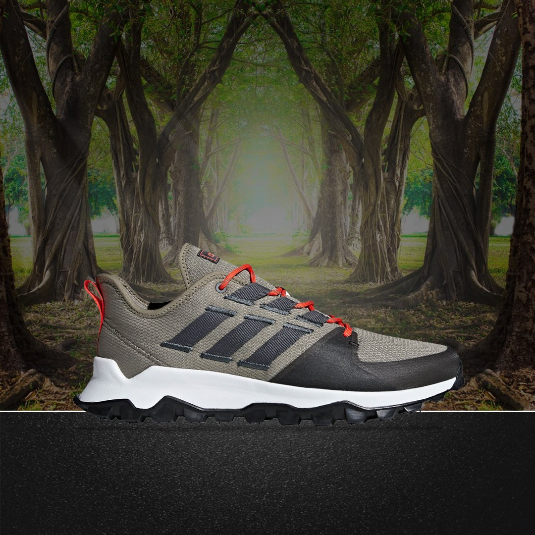 a01e9379d14 Go Off-Road this Winter with the  adidasrunning Kanadia Trail in an updated   Trace Cargo  colourway! . http   bit.ly 2nDDleu .  adidas  adidasrunning  ...