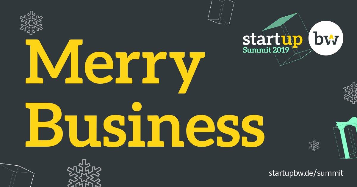 Wir wünschen frohe Weihnachten und schöne Feiertage. Das neue Jahr steht vor der Tür und ihr habt die Möglichkeit uns auf dem @Startup_BW Summit am 01. Februar 2019 in Stuttgart zu besuchen. https://buff.ly/2T70Ivv @Messe_Stuttgart #shopfloormanagementsystems @JustStartUp_de