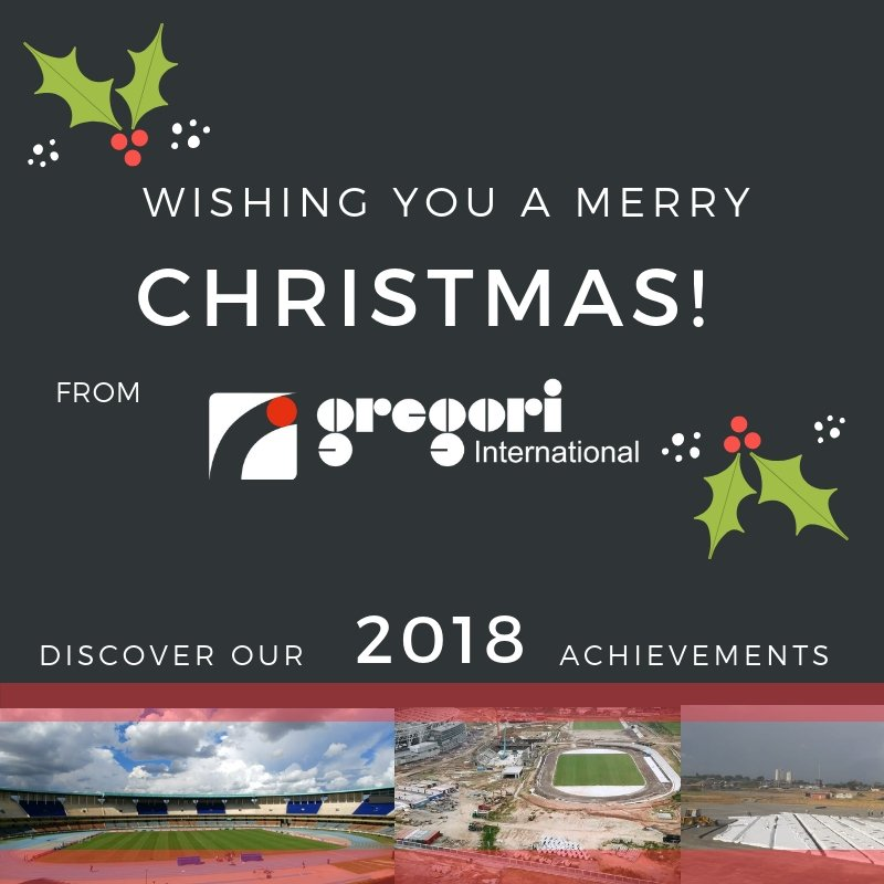We wish you a Happy Holiday Season! See you in #2019! The Highlights of 2018 https://t.co/4kn1Oa5pTB  #achievements #sportsfields #Africa #footballfields #Cameroon #Kenya