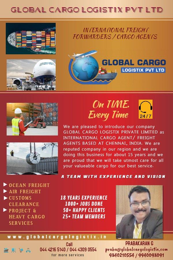 Global Cargo Logistix Private Limited (@GlobalCargolog) | Twitter