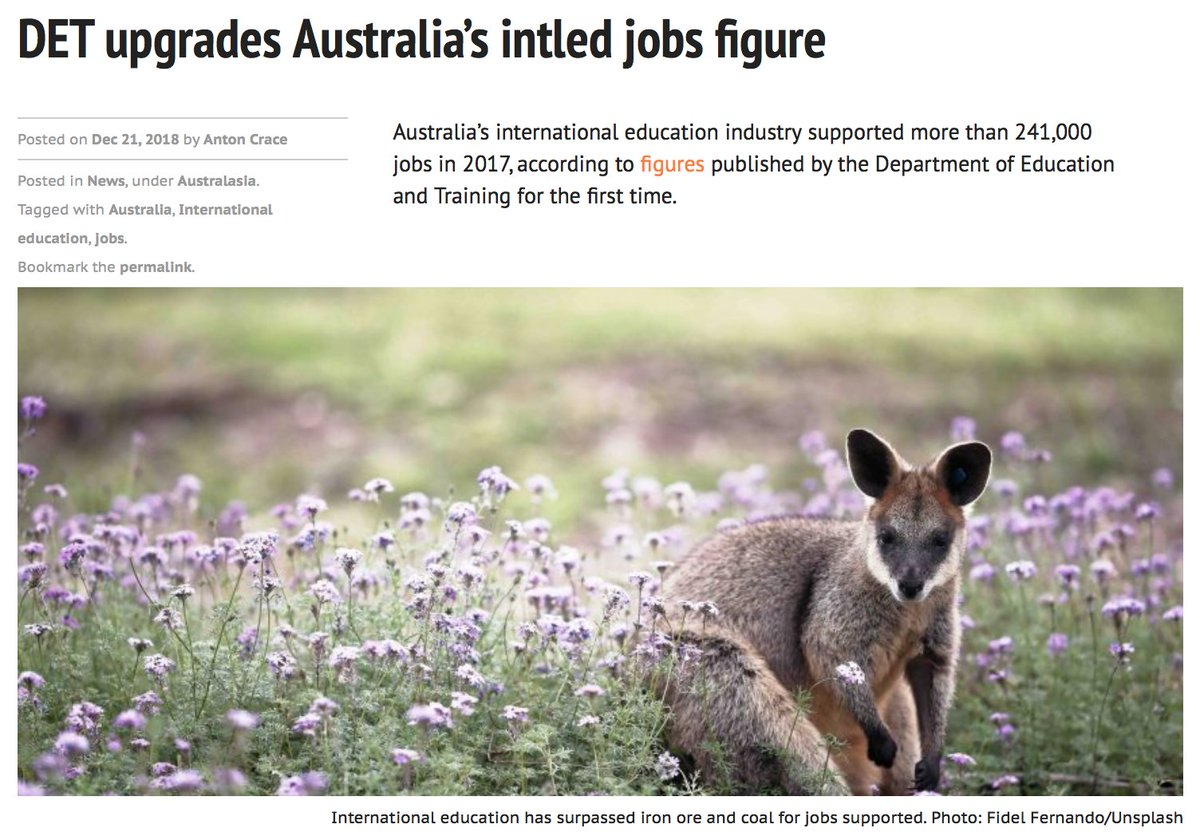 The Pie News On Twitter Det Upgrades Australias Intled Jobs Figure Read More Https T Co Kz6llhdyui Intled