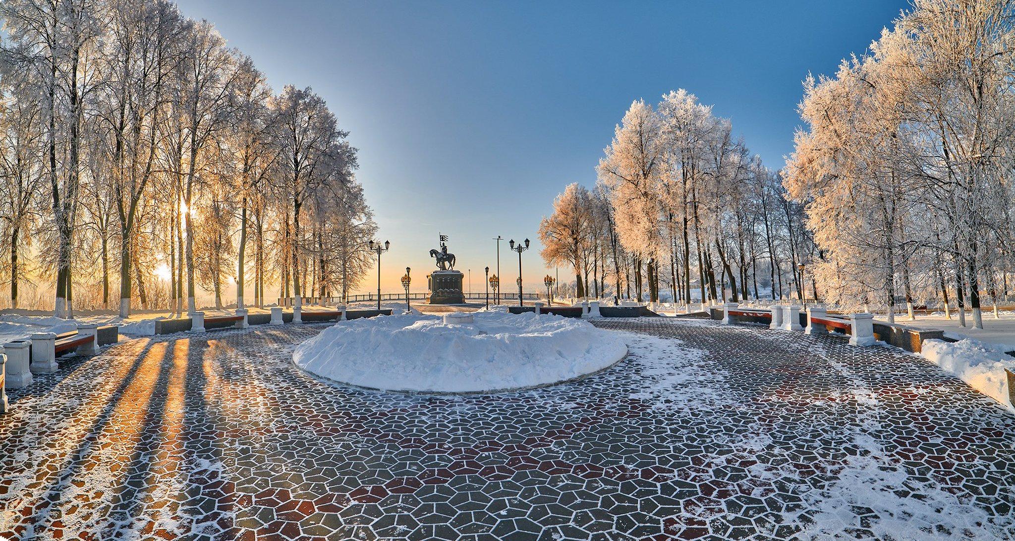парки города владимира фото при