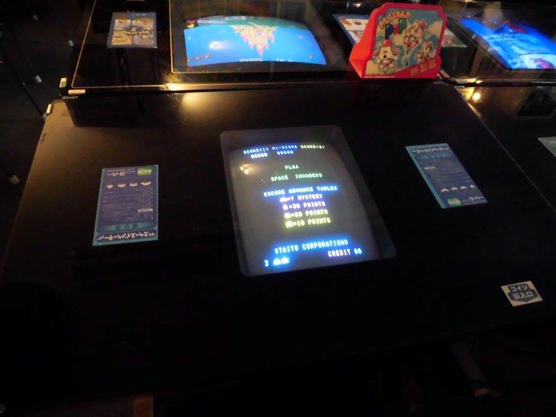 【おしらせ】 テーブル筐体『スペースインベーダー』復旧いたしました! #ゲームセンターあらし40周年 #si40