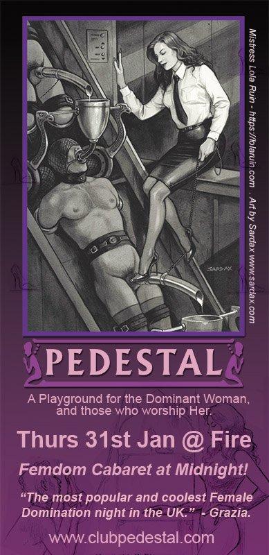KEISHA: Club pedestal domination