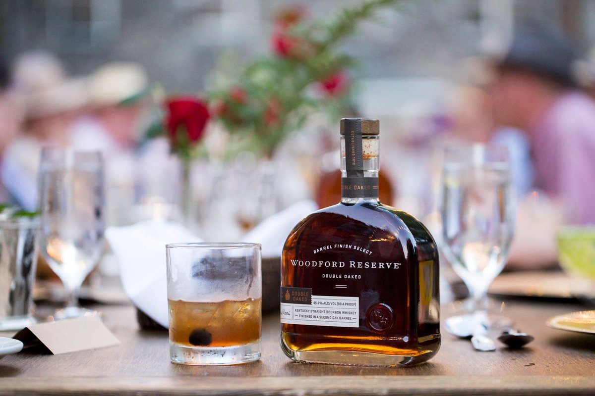 Our table is ready. #woodfordreserve