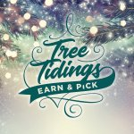 Image for the Tweet beginning: Tree Tidings Earn & Pick