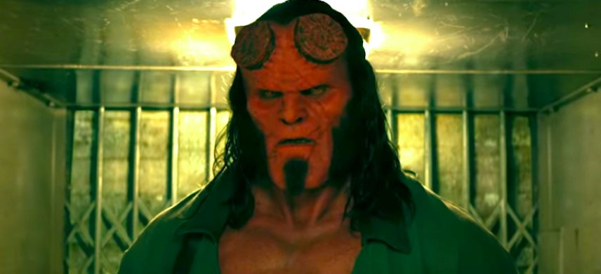 We're obsessed with the trailer for @DavidKHarbour's #HellBoy 😈👹 Watch it here: https://t.co/ZTk3wwELTb
