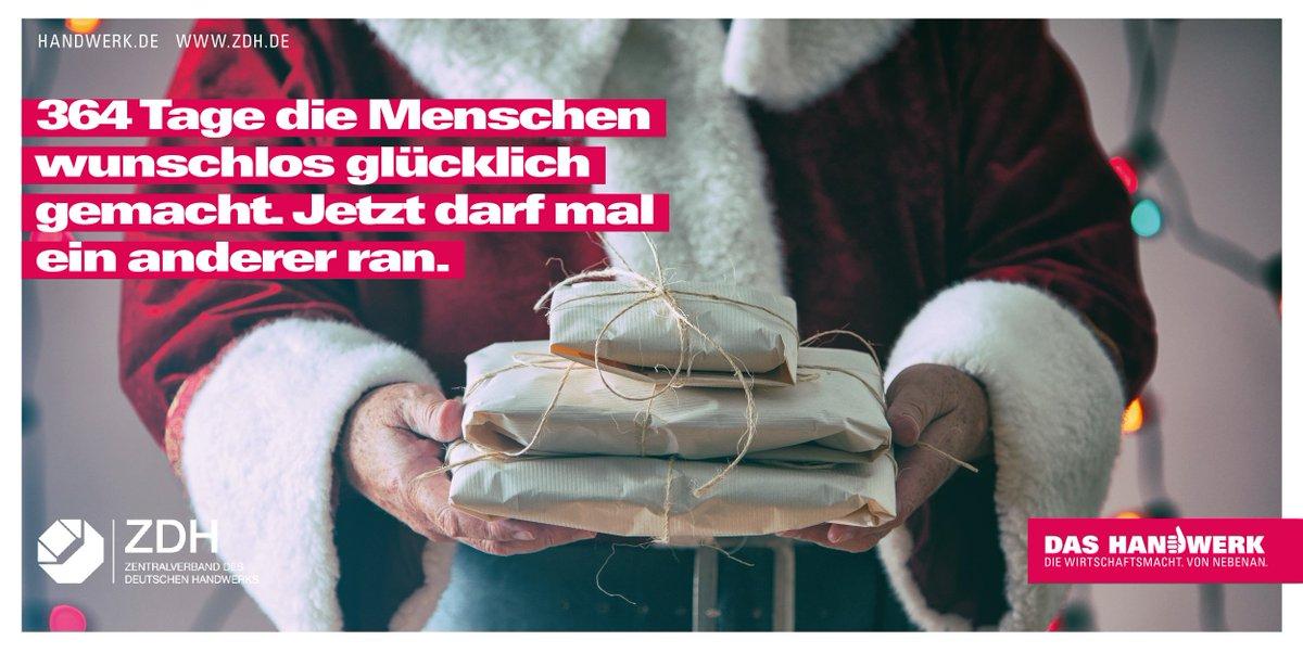 2 Mal Weihnachten 2019.Zdh Handwerk On Twitter Wir Wünschen Frohe Weihnachten Und Ein
