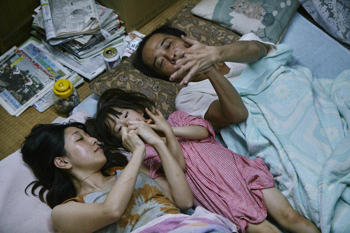 Le film de la semaine, le très beau et touchant Une affaire de famille de Hirokazu Kore-eda, Palme d'or à #Cannes18. http://bit.ly/2PWi0t0