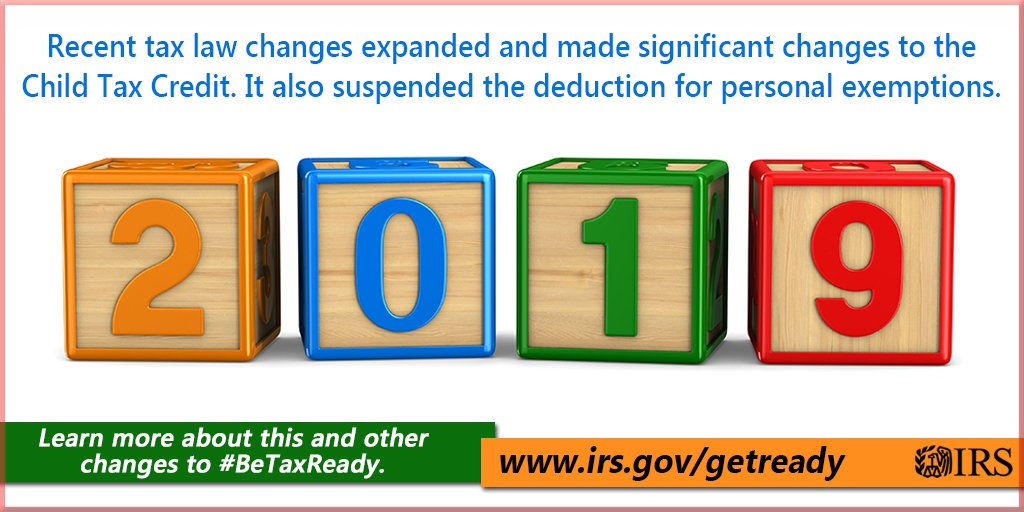Taxreform Increased The Child Tax Credit Higher Income Limits Mean More Families Are Now Eligible Get Irs Details To Betaxready