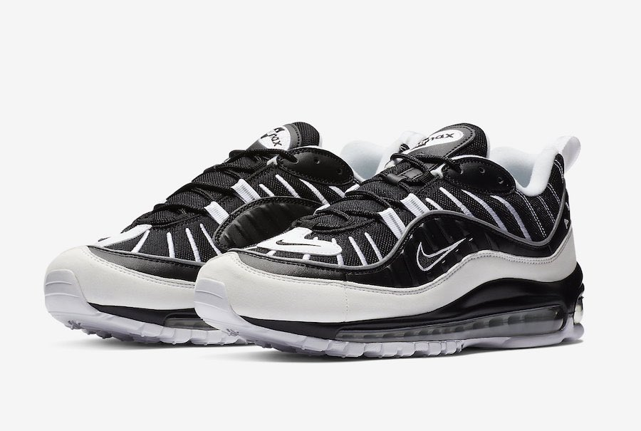 online store 3f22e e7efa The Nike Air Max 98 set to release in January in a simple Black and White