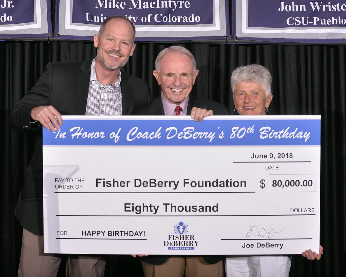 MERRY CHRISTMAS!! 🎄 FISHER DEBERRY FOUNDATION 2018 YEAR-END NEWSLETTER: bit.ly/2GIzWZ4