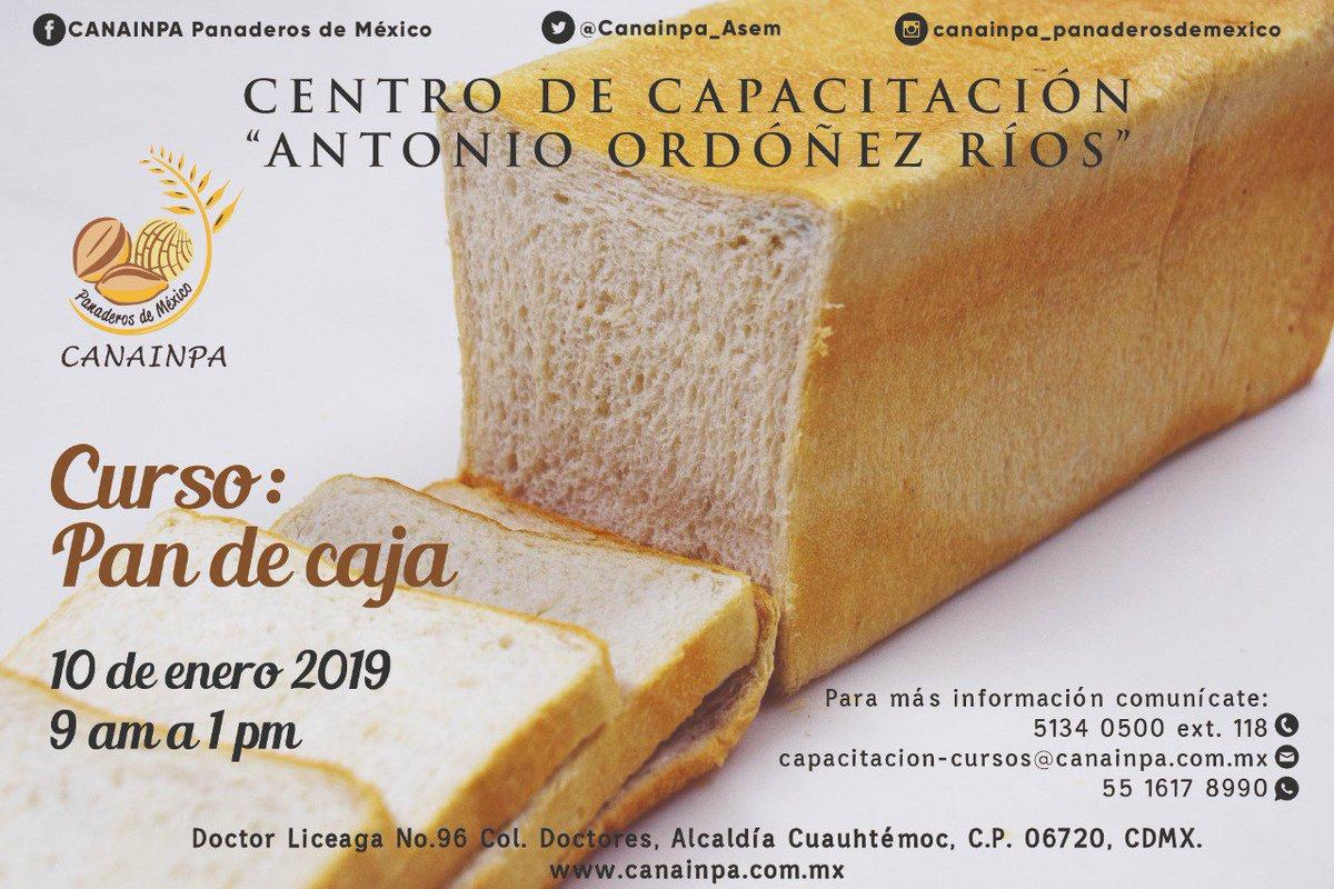 """Te invitamos al curso de Pan de Caja"""" #comesanocomepan #pancadaDia #comamospan"""