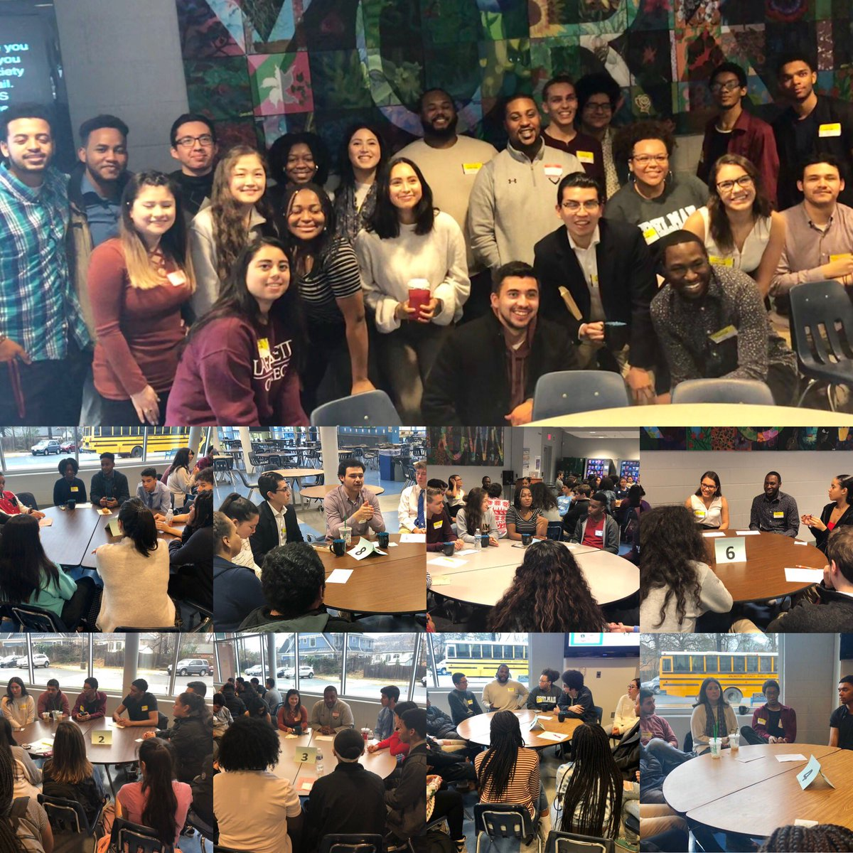 Thank you to the alumni who shared their experiences about life beyond YHS! <a target='_blank' href='http://twitter.com/Principal_YHS'>@Principal_YHS</a> <a target='_blank' href='http://twitter.com/yhsenglish'>@yhsenglish</a> <a target='_blank' href='http://twitter.com/YorktownSentry'>@YorktownSentry</a> <a target='_blank' href='http://twitter.com/YorktownOEE'>@YorktownOEE</a> <a target='_blank' href='https://t.co/V2jdvz7Z3x'>https://t.co/V2jdvz7Z3x</a>