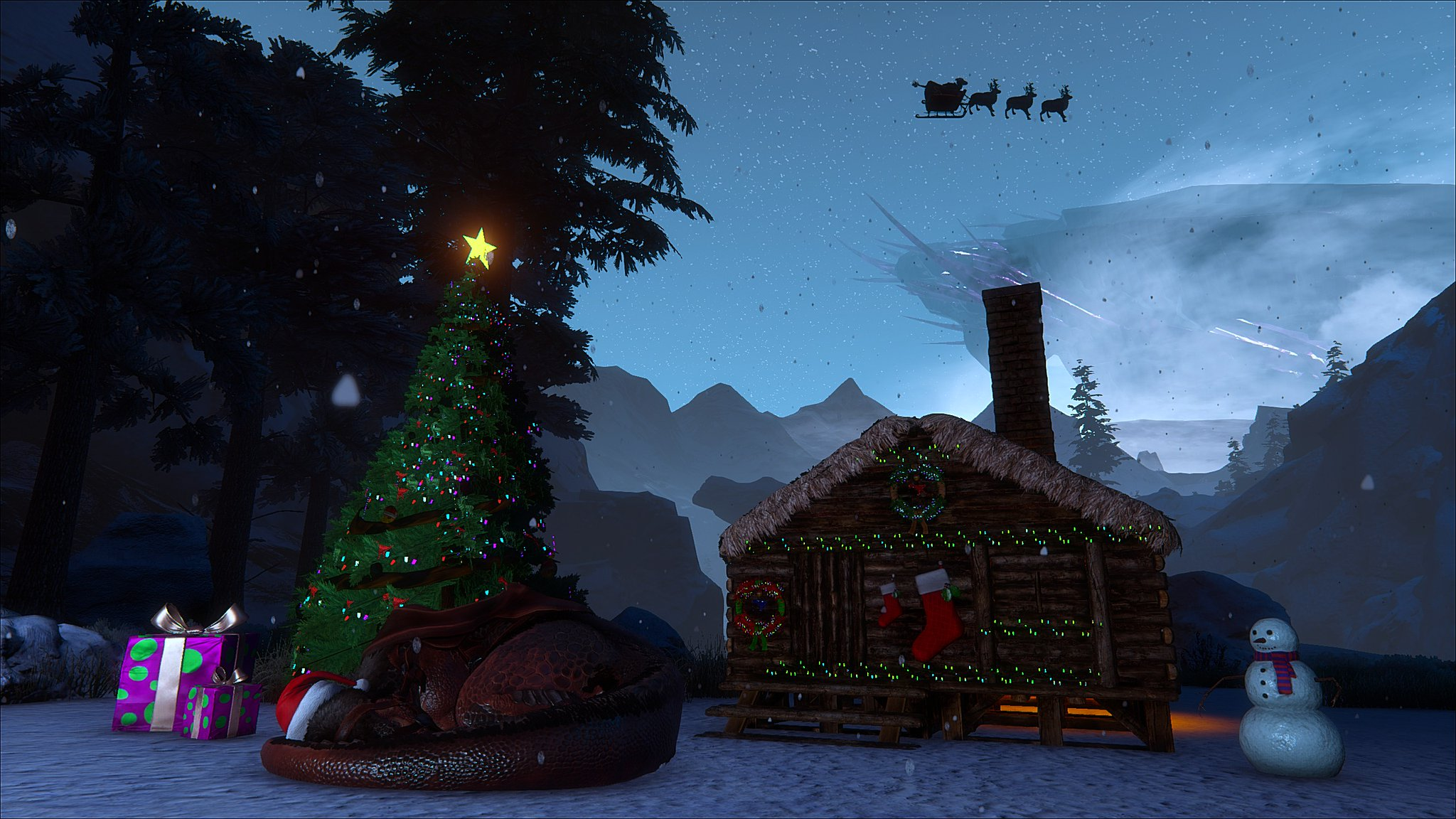 Ark Survival Evolved Christmas Event.Ark Survival Evolved On Twitter Have You Been Decorating