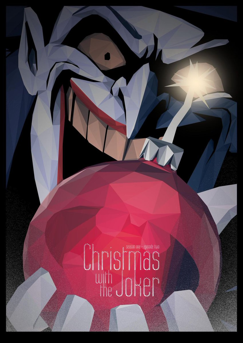 Christmas With The Joker.Batman Tas On Twitter Poster For The Episode Christmas