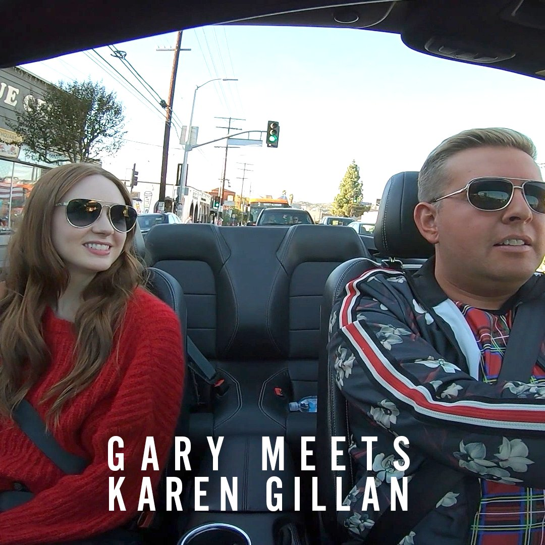 | @GARYTANK and @karengillan are here to school you on accents.  Watch #GaryGoesToHollywood tonight at 10pm https://bbc.in/32ro3xd