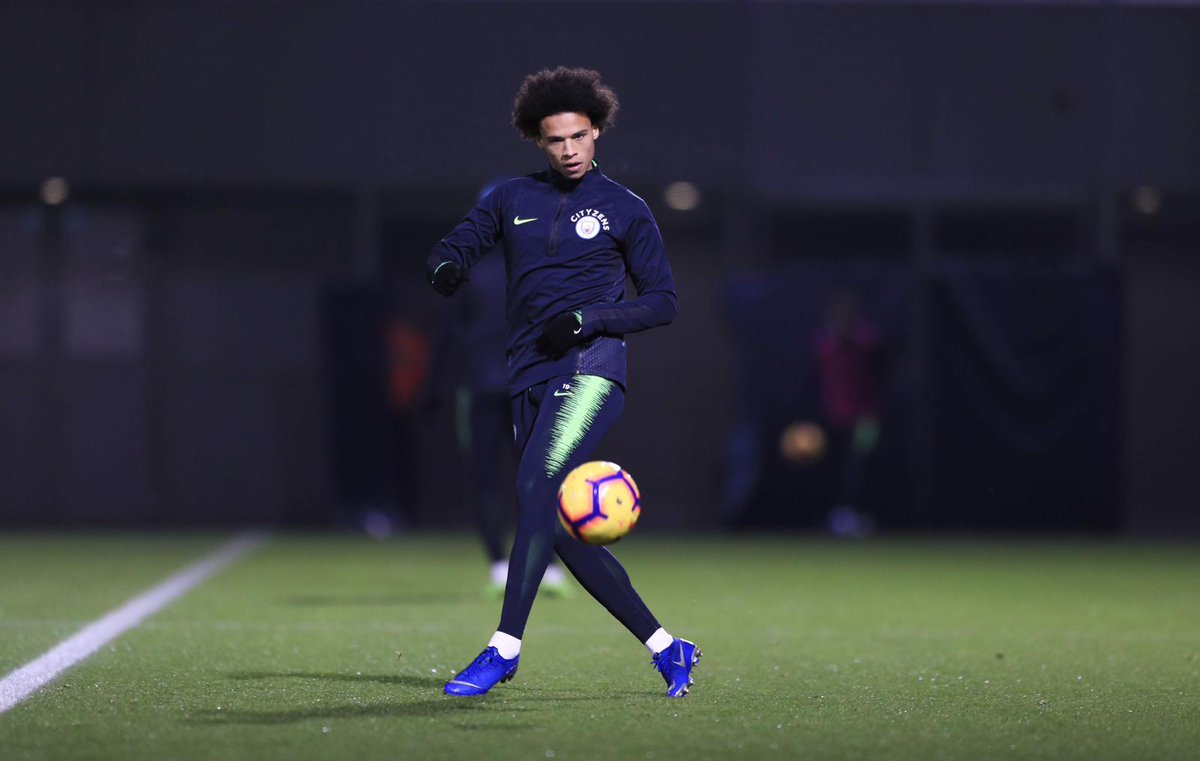 Focused on the last challenges of the year 🔥⚽️🔥 #LS19 #inSané @ManCity