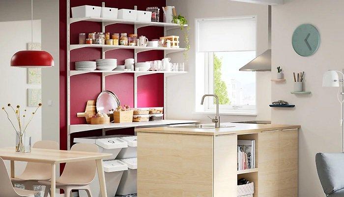 Muebles auxiliares de cocina #Ikea con soluciones de ...