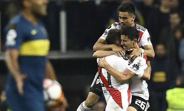 River Plate campeón de la Copa Libertadores 2018  https://t.co/X7QTxP0fzY