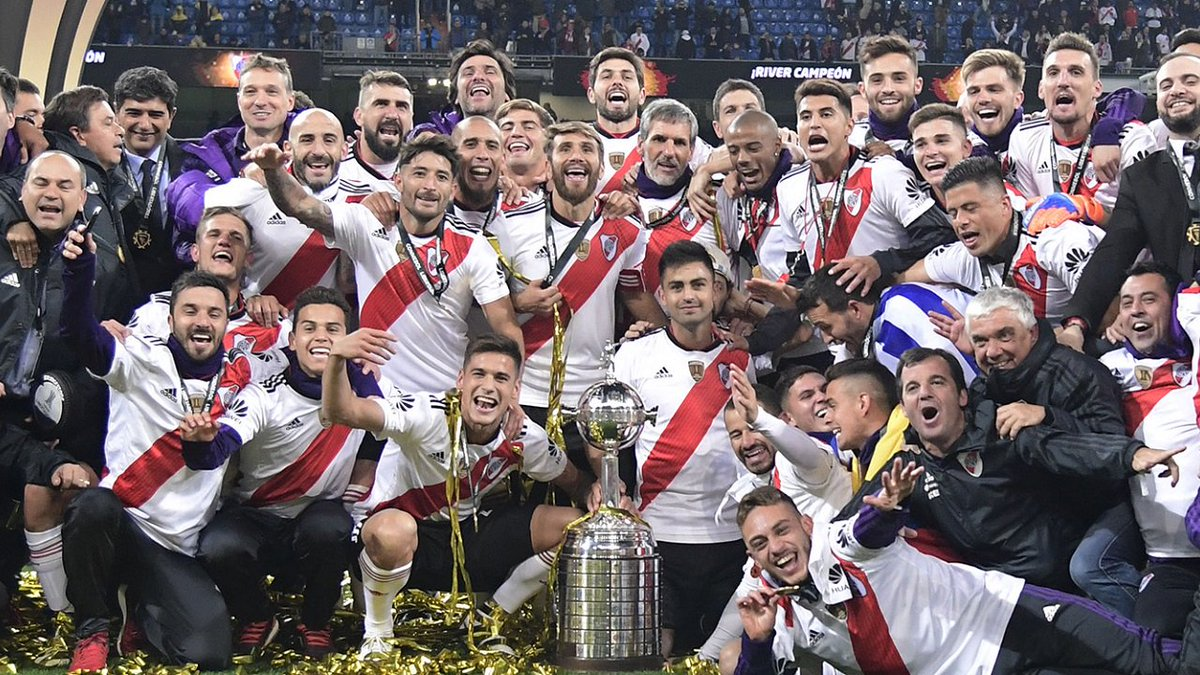River Plate fight back to win Copa Libertadores! 🏆  Quintero's stunning extra-time goal helps Millonarios win their 4th Libertadores with a historic victory over Boca Juniors 🏟  Do you want a rematch? Play now the 2018–19 Argentine league in FCS!  ▶ https://t.co/P2BmxRSbVg https://t.co/rCzDaL1V4k