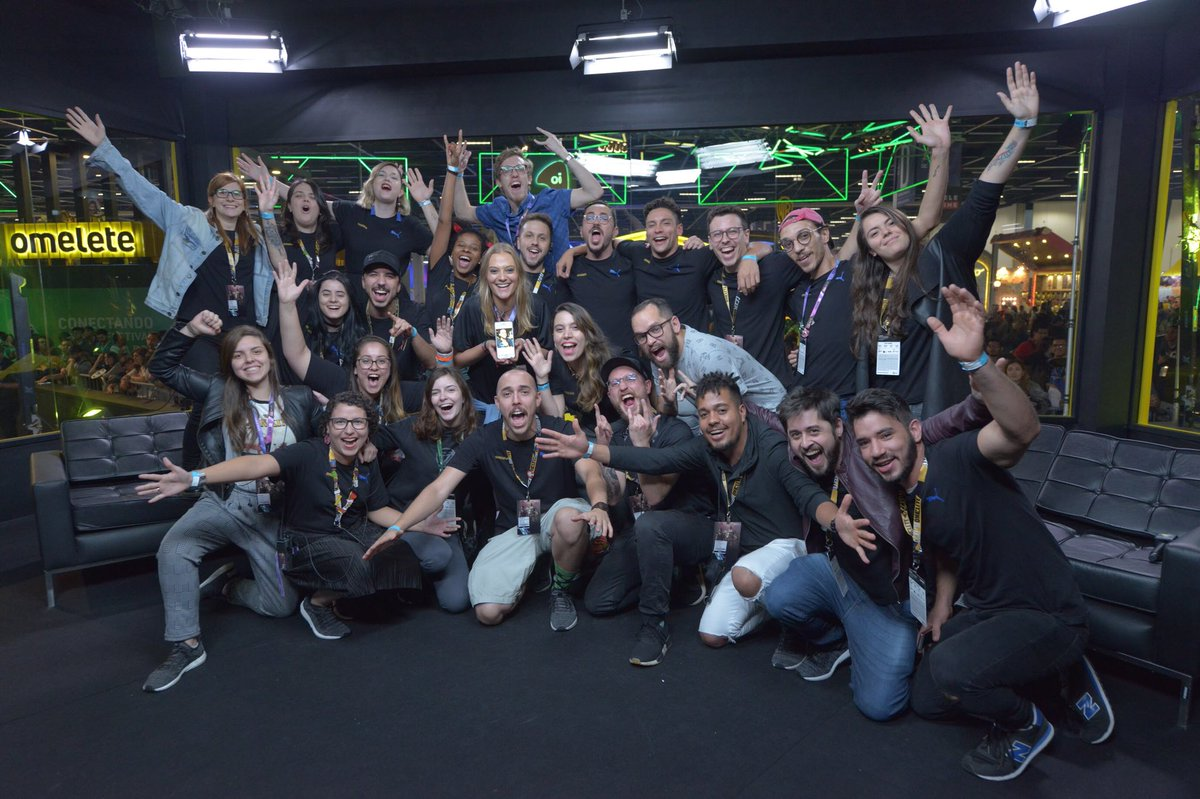 omelete's photo on #CCXP18