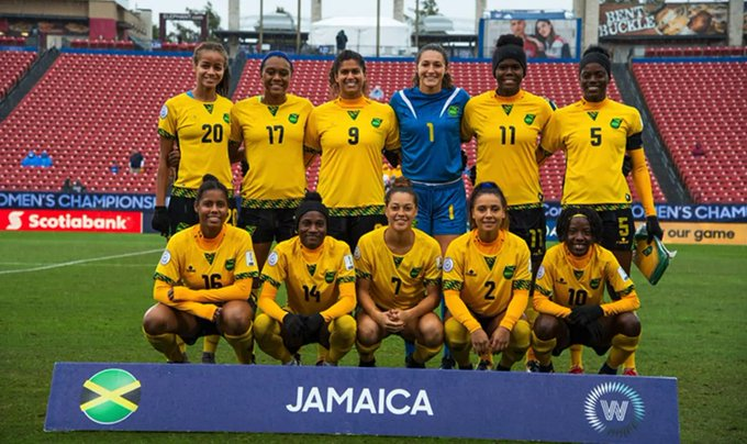 Jamaica learn Group C opponents at 2019 FWWC Jamaica jugará en el Grupo C en la Copa Mundial Femenina de la FIFA 2019 #FIFAWWC @jff_football Photo