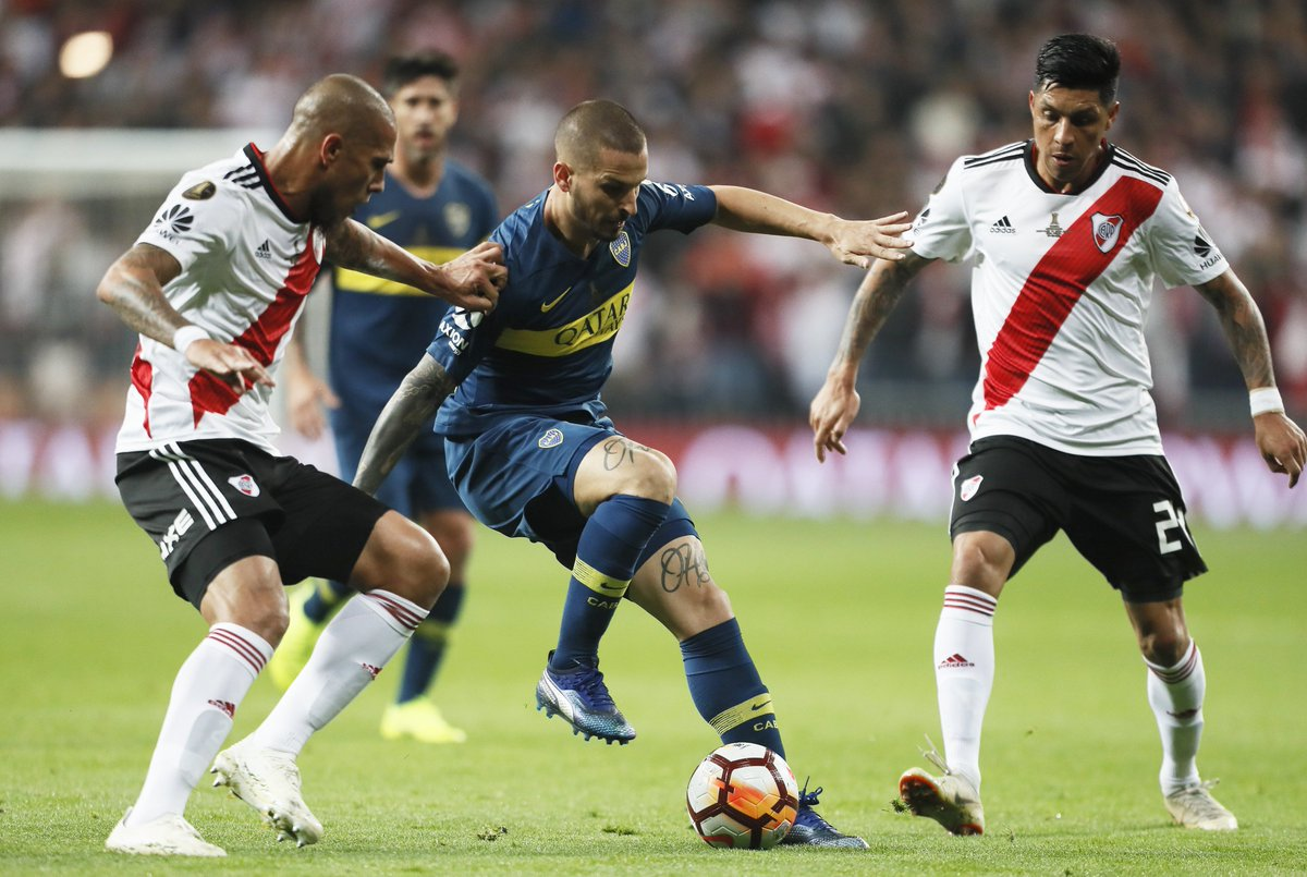 40´PT: River 0 - #Boca 0.  #VamosBoca 👊