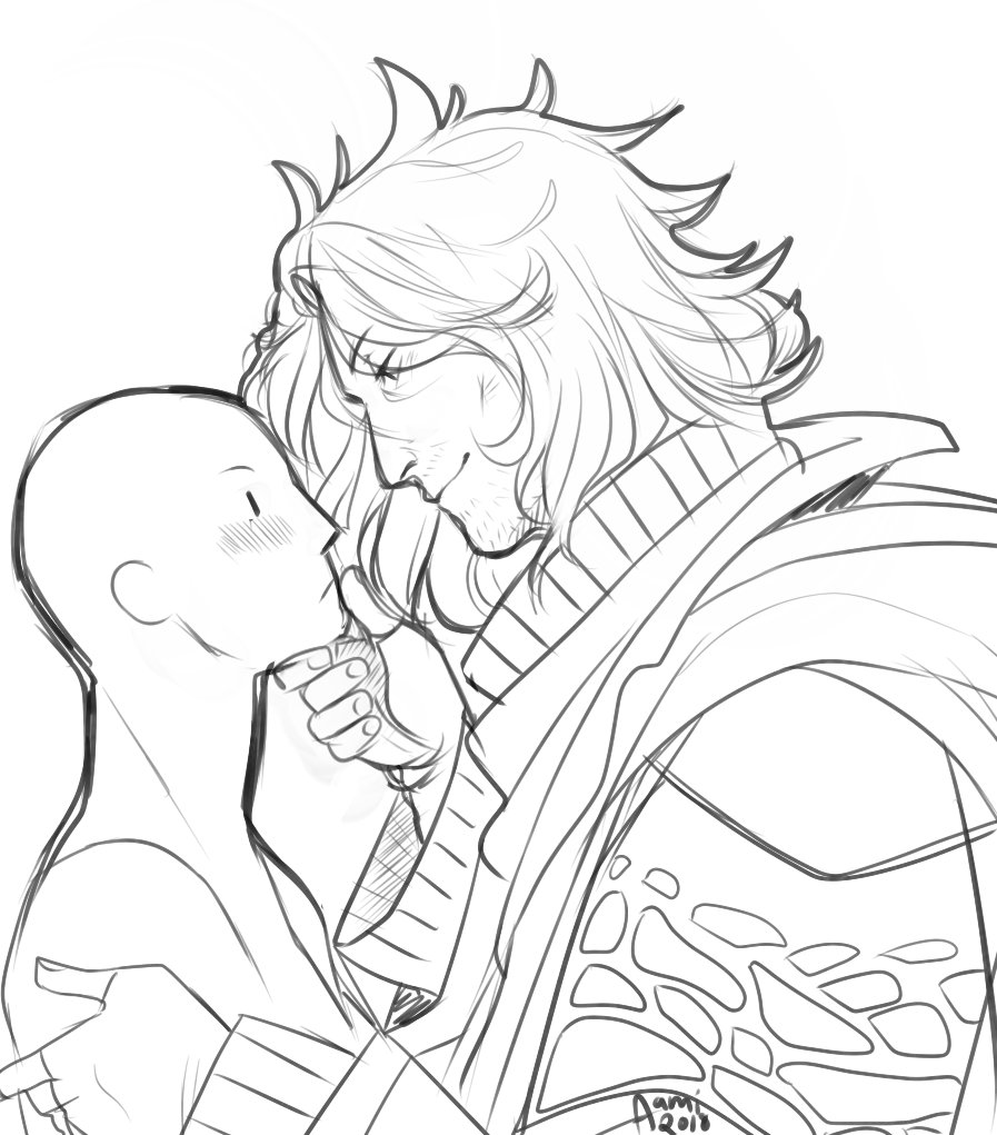 hey fandom, thanks for the delicious ardyn/reader fics, here&#39;s little something for y&#39;all. imagine yourself....... #ArdynIzunia<br>http://pic.twitter.com/IPKhIO03ge