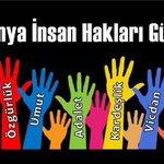 #10AralıkDünyaİnsanHaklarıGünü Twitter Photo