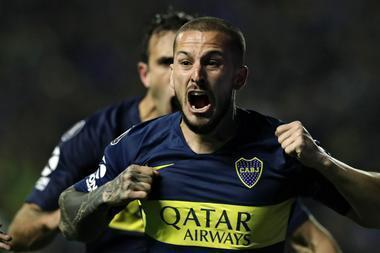 ¡Gol de Boca! Tras un contraataque con un gran pase de Nández, Benedetto marcó el primer gol del partido en Madrid  https://t.co/zwEbySGfAD