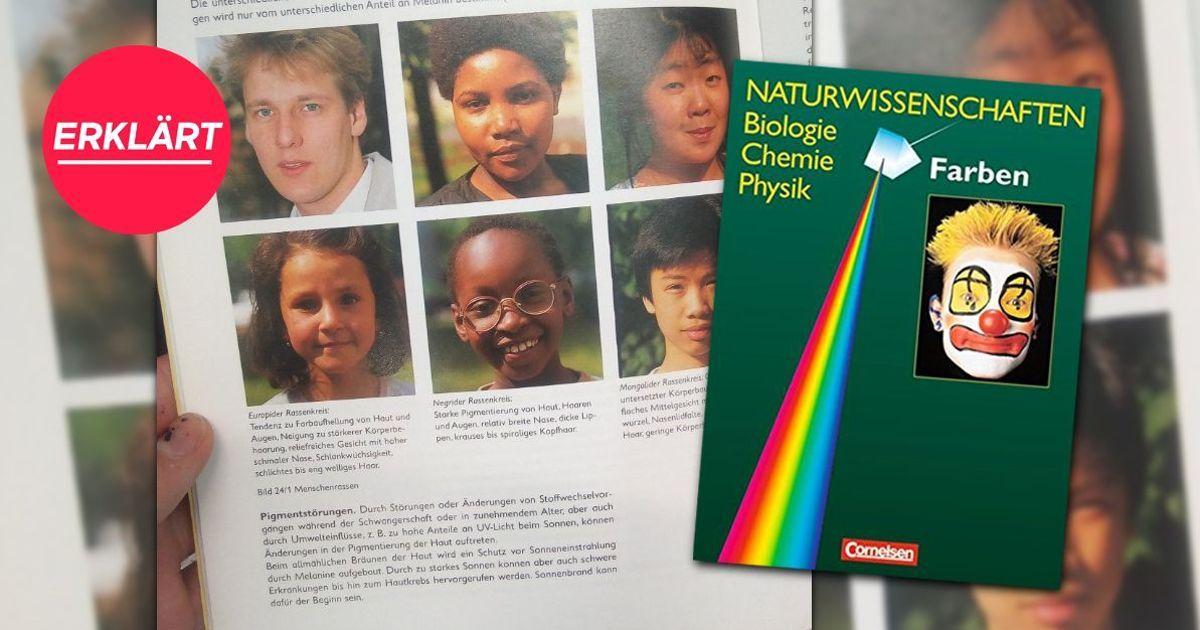 Rassismus im Biologie-Unterricht: Themenheft an Schulen in Sachsen spricht von 'negriden Menschenrassen' https://t.co/eSqctZaBKJ