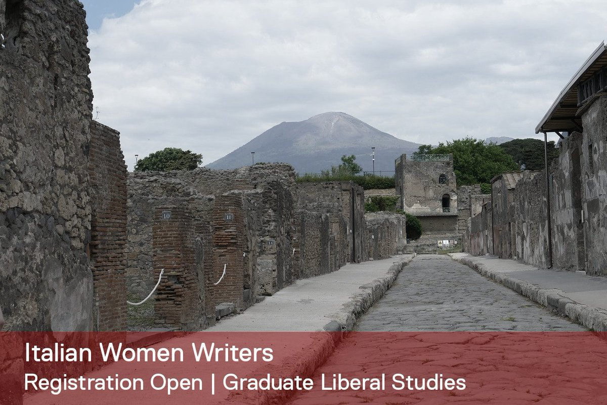 "test Twitter Media - Experiencing #FerranteFever and looking to indulge in more books by Italian women authors?   This spring, Graduate Liberal Studies at Wesleyan offers a course on ""Italian Women Writers."" The term begins Jan. 28.  Learn more: https://t.co/LUfMEThyEG https://t.co/GdhdbVFOIs"