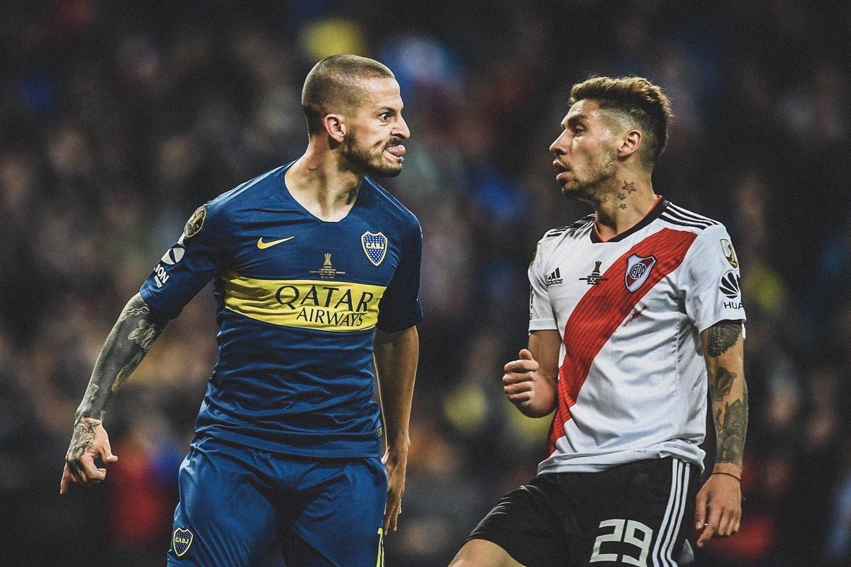 🏆 Copa Libertadores Final - 1st Leg ⚽️ @PipaBenedetto  🏆 Copa Libertadores Final - 2nd Leg ⚽️ @PipaBenedetto   👹 @CARPoficial's worst nightmare.