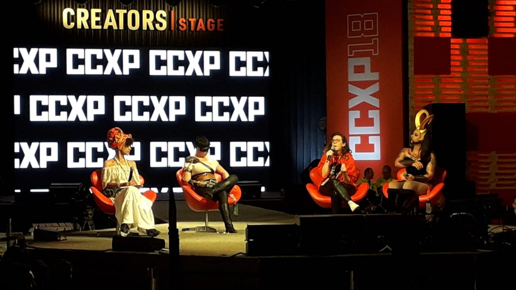 Diva Laura's photo on #CCXP18