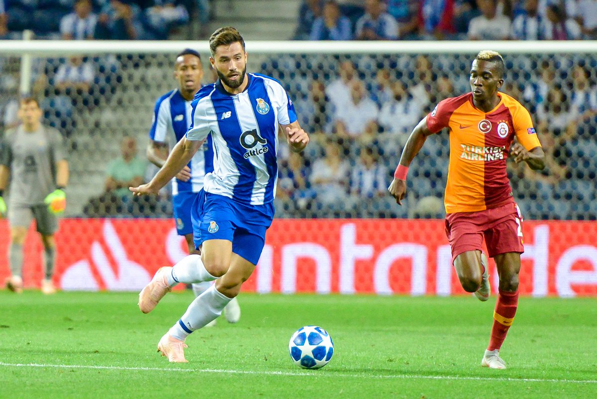 Champions 💙⚽  #FCPorto #GSFCP #UCL