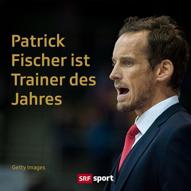 Nach der #Eishockey-#Nati räumt auch Trainer Patrick Fischer ab! @SwissIceHockey #Gala #CreditSuisseSportsAwards #srfsports