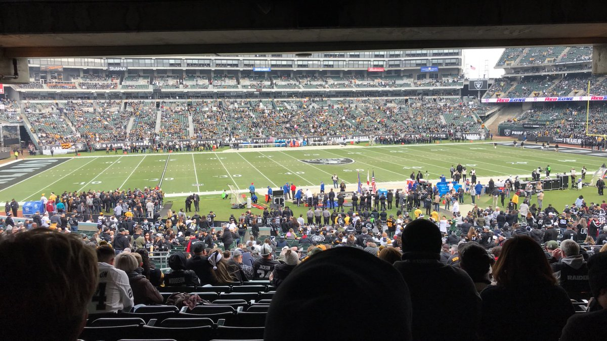 Here for the Steelers vs Raiders game!